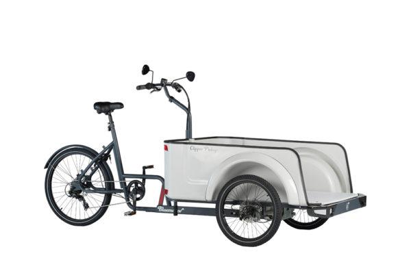 Vélo cargo triporteur mécanique, caisson ABS, Clipper Pickup