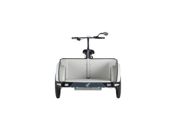 Vélo cargo triporteur à assistance électrique, caisson ABS, Clipper Pickup