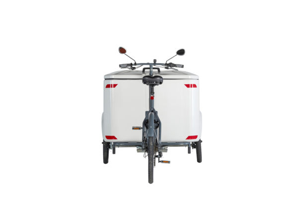 Vélo cargo triporteur mécanique, caisson ABS, Clipper Pro