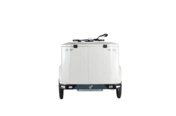 Vélo cargo triporteur à assistance électrique, caisson ABS, Clipper Pro