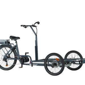 Vélo cargo triporteur à assistance électrique Clipper Nobox