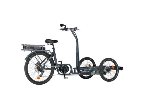 Vélo cargo triporteur à assistance électrique Ketch Nobox Shimano