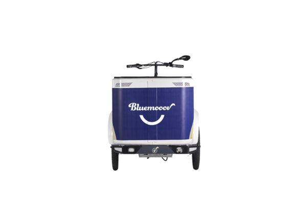 Vélo cargo triporteur à assistance électrique, caisson ABS, Ketch Open Enviolo