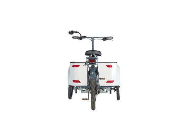 Vélo cargo triporteur à assistance électrique, caisson ABS, Ketch Pickup Shimano