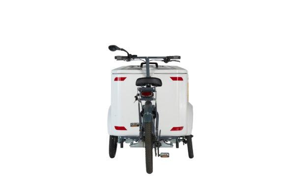 Vélo cargo triporteur à assistance électrique, caisson ABS, Ketch Pro Shimano