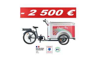 ADEME 2500 euros d'aides pour les professionnels